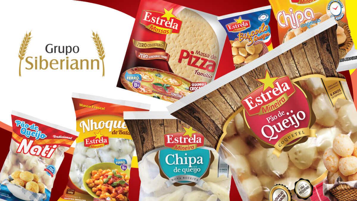 GRUPO SIBERIAN  - Criação de embalagens e comunicação para venda