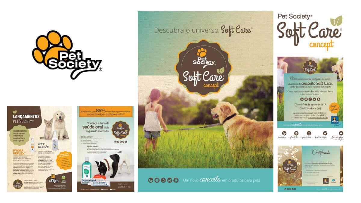 PET SOCIETY  - Conceito SOFTCARE lançado para o mercado